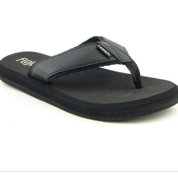 153e5244482 Men s Flojos Cole II Rubber Flip Flops